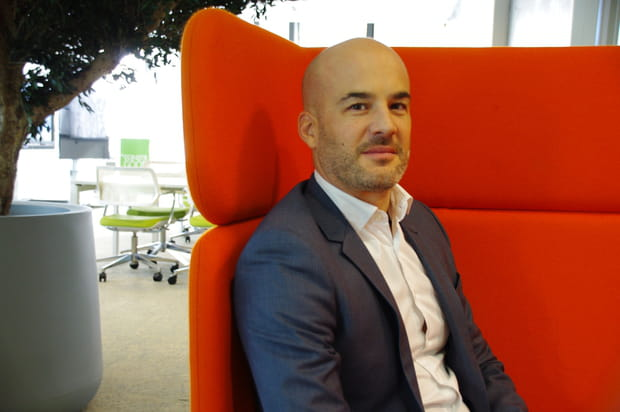 """Arnaud Pelletier, """"leader"""" de l'IBM Studio Paris"""