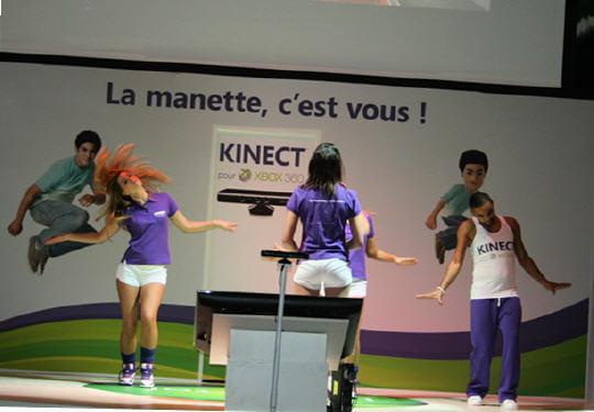 Kinect : le multijoueur