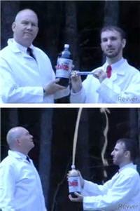 capture d'écran de la vidéo virale réalisée pour le compte de diet coke et