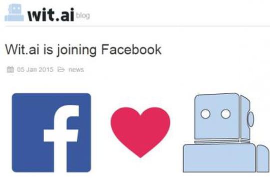 Facebook rachète la start-up Wit.ai, fondée par des français