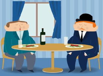 au restaurant il faut oublier ses premiers rudiments de politesse française