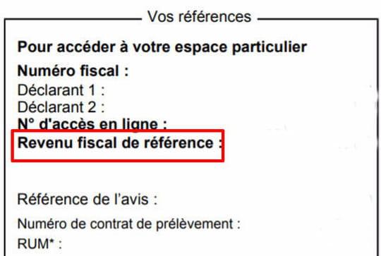 Revenu fiscal de référence 2020: qu'est-ce que c'est?