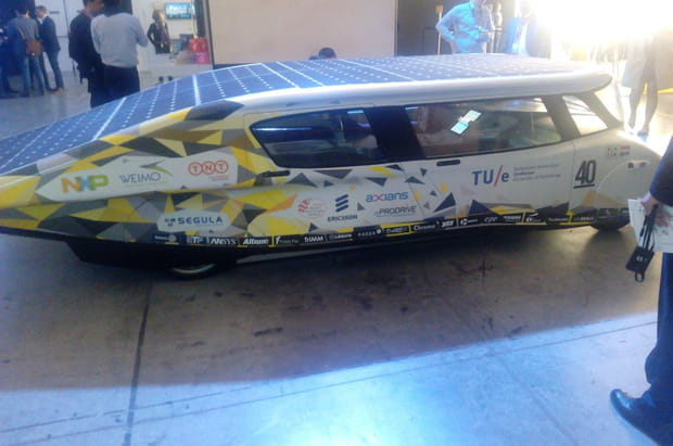 La voiture solaire d'Ericsson