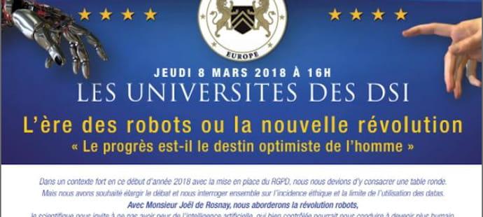 Universités des DSI 2018: les robots et la data au cœur du programme