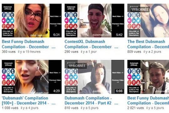 Le phénomène de l'appli de playback Dubsmash débarque en France