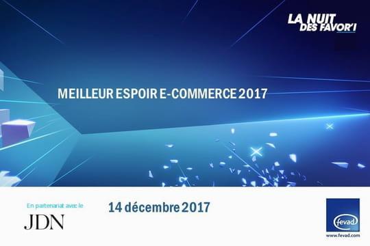 Candidatez au Favor'i du meilleur espoir de l'e-commerce 2017!