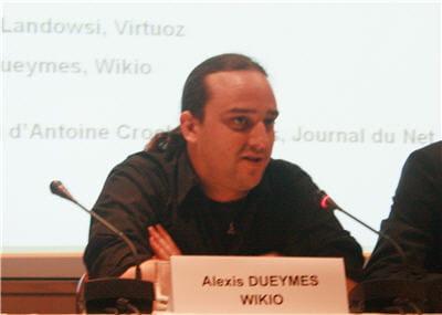 alexis dueymes (wikio).