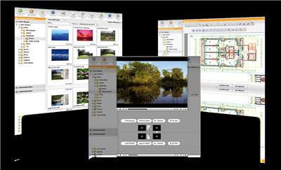captures d'écran de la solution de stockage dans le cloud d'oodrive.