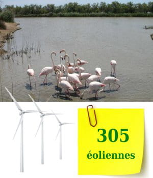 le languedoc-roussillon est la 3e région de france en nombre d'éoliennes.