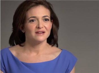 sheryl sandberg est la coo de facebook, et aura grandement contribué au succès