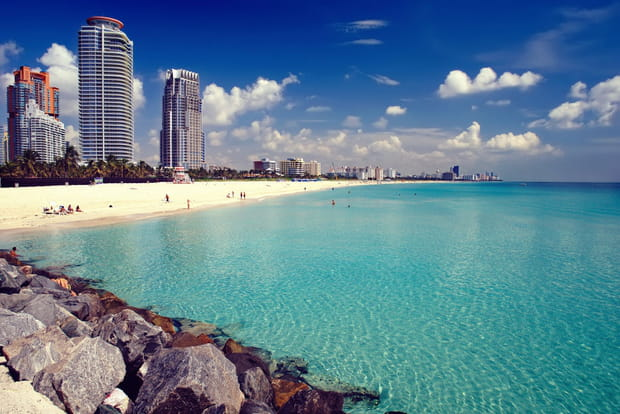 6e : South Beach, Floride (Etats-Unis), 64,23 € par jour