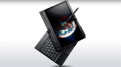 la tablette hybride biométrique lenovo thinkpad x230t.
