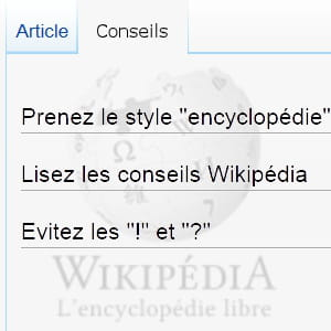 wikipédia est strictquant àla forme des contenus.