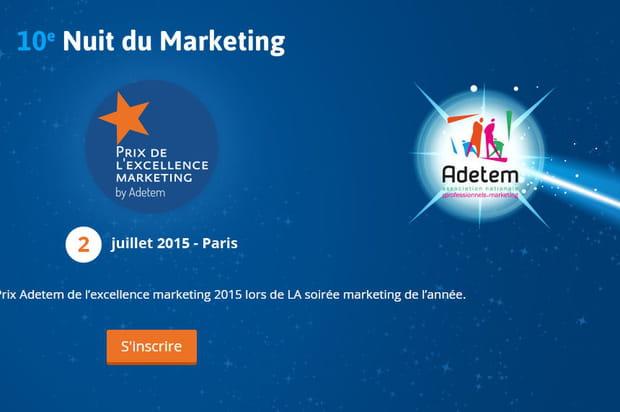 Nominés excellence marketing Adetem 2015