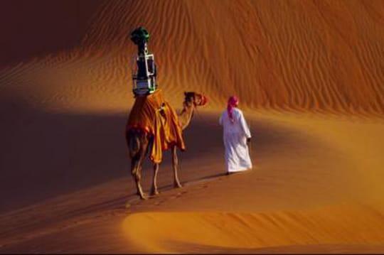 Google cartographie le désert grâce à des dromadaires