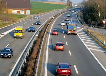 sept chantiers d'autoroutes non concédées sont en cours.