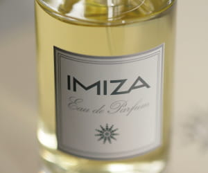 eau de parfum imiza, 72 euros.