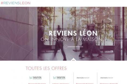Reviens Léon : les start-up françaises à succès draguent les expatriés