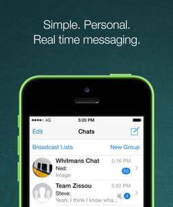 l'application de messagerie parfaite !