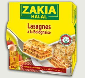 les lasagnes zakia.
