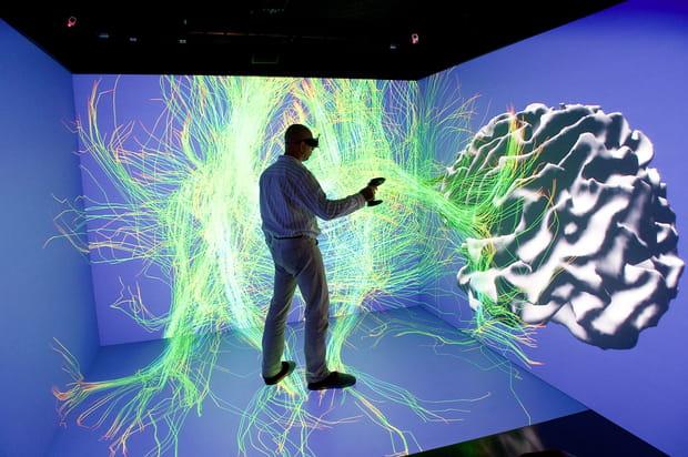 Cube immersif de réalité virtuelle