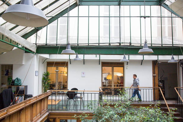 Open space et bureaux fermés