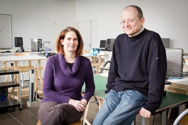 Emmanuelle Roux et Laurent Ricard, fondateurs du FacLab