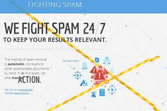 SEO : Google dévoile sa lutte contre le spam