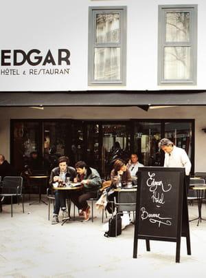de nombreux entrepreneurs affectionnent l'hôtel edgar.