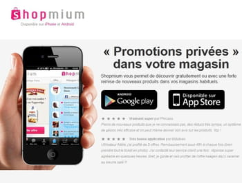 shopmium : e-commerce award innovation