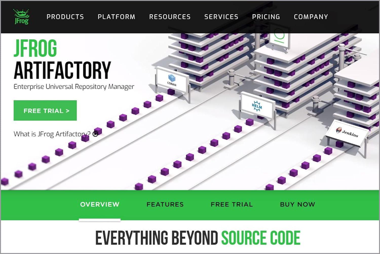 JFrog Artifactory: gestion open source des référentiels de composants