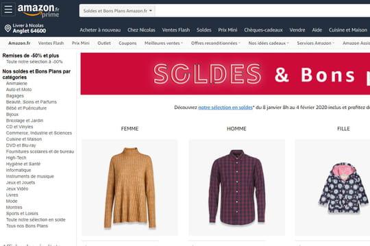 Amazon encore en progression en novembre sur le Web français