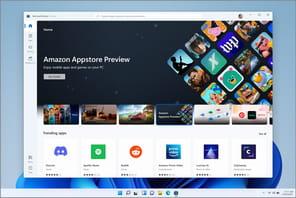 Windows11(gratuit): 50premières apps Android en bêta
