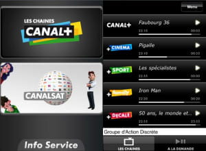 l'application canal+, filiale de vivendi