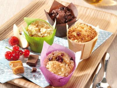 les mini muffins des délices des 7 vallées.