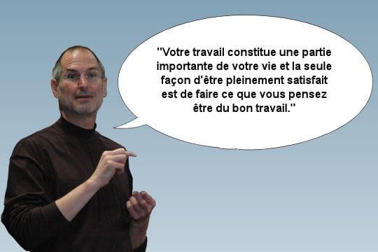Steve Jobs, sa relation vis-à-vis du travail
