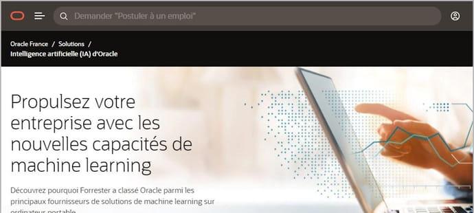 Quelle est la stratégie d'Oracle dans l'IA?