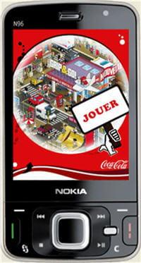 visuel de l'opération mobile pixel city lancée en 2008.