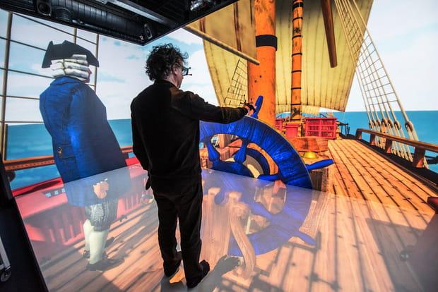 Une balade en mer virtuelle à bord d'un navire du XVIIIe