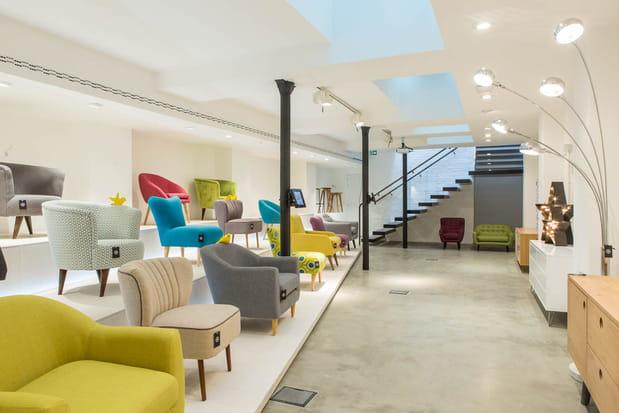840 m² sur 2 niveaux