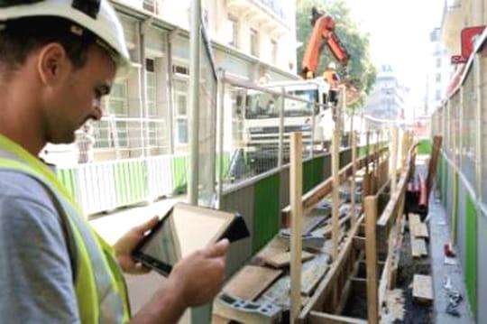 Suez Environnement: des chantiers 100% pilotés via tablettes Windows