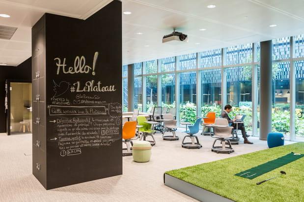 """Le """"Plateau"""": un incubateur pour les startup"""