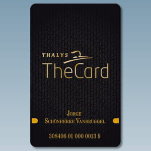 la carte the card de thalys.