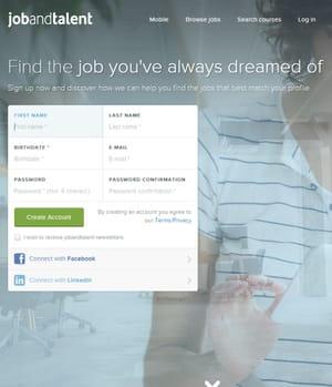 jobandtalent est une plateforme de recrutement.