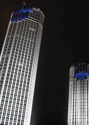 le siège de la banque commerciale de turquie est situé dans un complexe de trois
