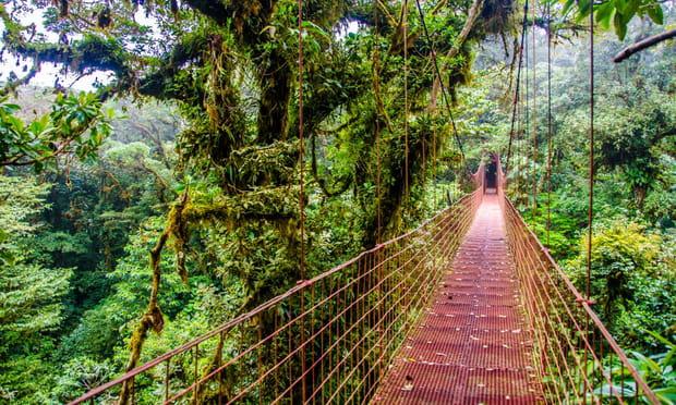 Monteverde (Costa Rica): nuageuse