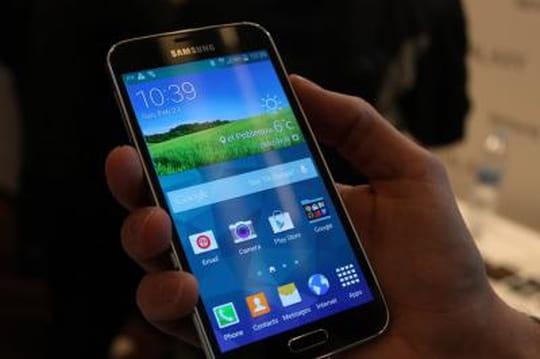 Galaxy S5 : le nouveau smartphone de Samsung en photos