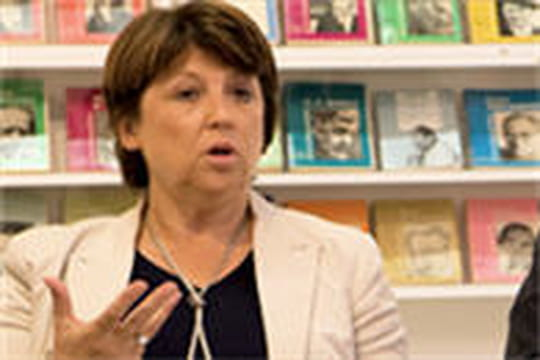 """Martine Aubry veut une """"Commission nationale des libertés numériques"""""""