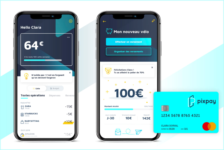 Pixpay lève 3,1millions d'euros pour sa néobanque dédiée aux ados