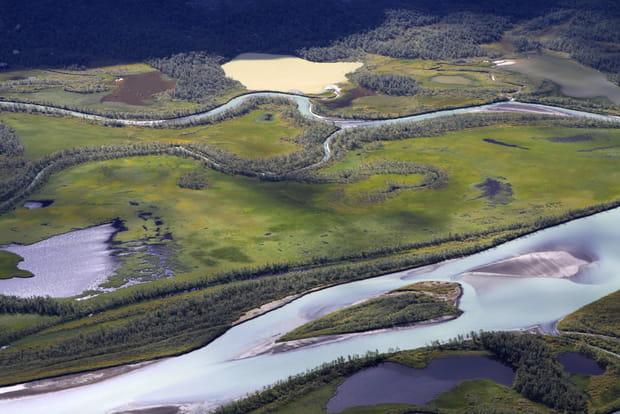 Le parc national de Sarek, Suède